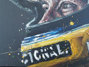 Designed To Win – Ayrton Senna (canvas) by Paul Oz