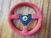 Team Lotus MOMO genuine steering wheel - Formula 1 Memorabilia