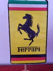 2006 Ferrari pennant signed by 5 drivers + Jean Todt - SOLD - - Formula 1 Memorabilia