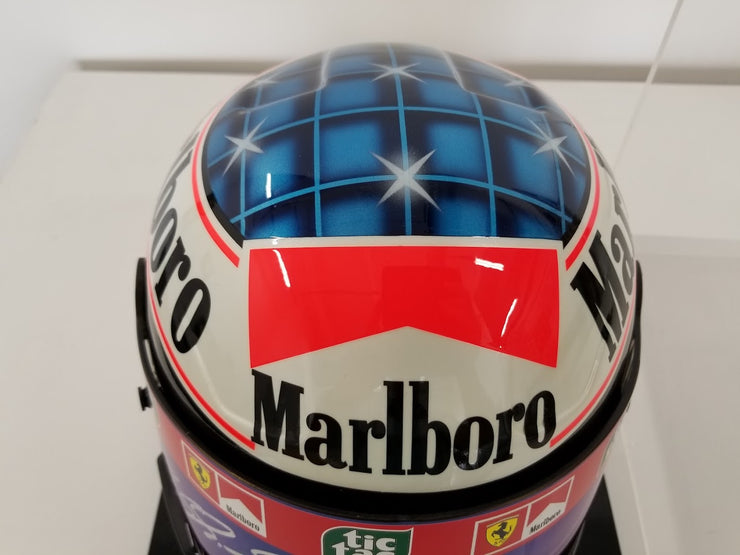 2000 Michael Schumacher Bell official replica Helmet signed - SOLD - - Formula 1 Memorabilia