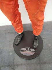 "Niki Lauda race suit and shoes used in the movie ""Rush"""