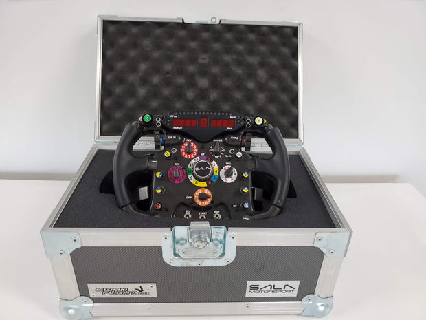 Sala Motorsport carbon wheel, SLI-F1 display - Formula 1 Memorabilia