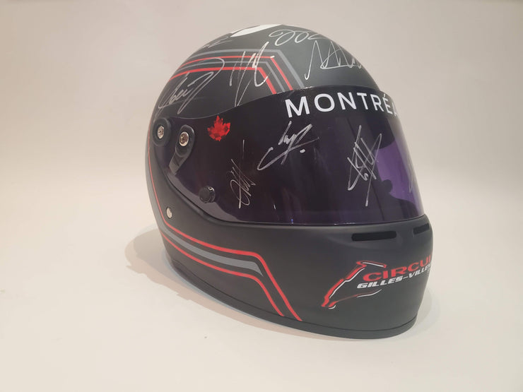 2017 Canada GP helmet signed by all 20 drivers - Formula 1 Memorabilia