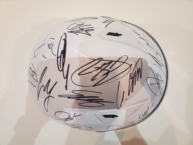 2019 Canada GP helmet signed by all drivers - Formula 1 Memorabilia
