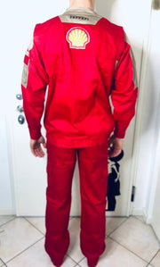 Original Ferrari GES racing department work uniform
