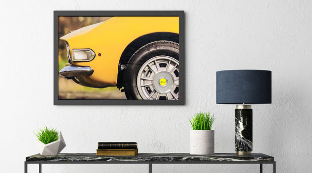 Fiat Dino Spider 2400 wall art