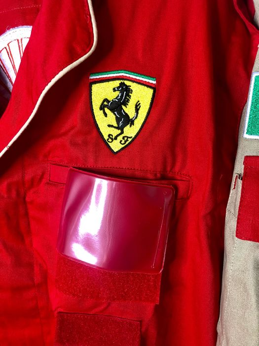 Original Ferrari factory work overall