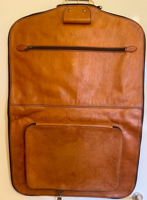 1990s Ferrari 348 355 Schedoni leather suit carrier