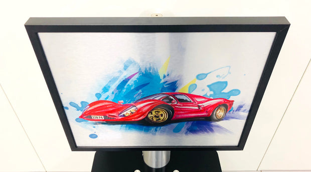 Ferrari 330 P4  wall art
