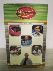 1984 video VHS signed by Stirling Moss, Jacky Ickx, Derek Bell, John Surtees