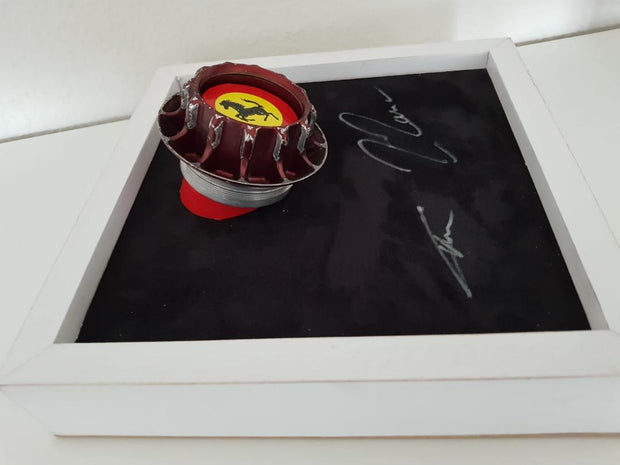 2011 Ferrari F2011 race used wheel nut - Formula 1 Memorabilia
