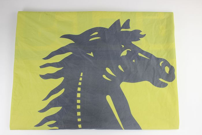 Original Ferrari dealership flag
