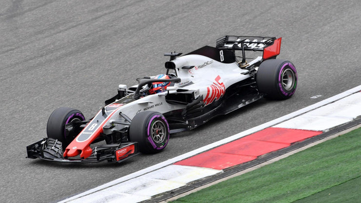 2018 VF-18 Chassis Side Romain Grosjean