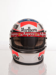 1997 Michael Schumacher tests used helmet - Formula 1 Memorabilia