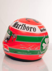 1999 Eddie Irvine race used helmet signed