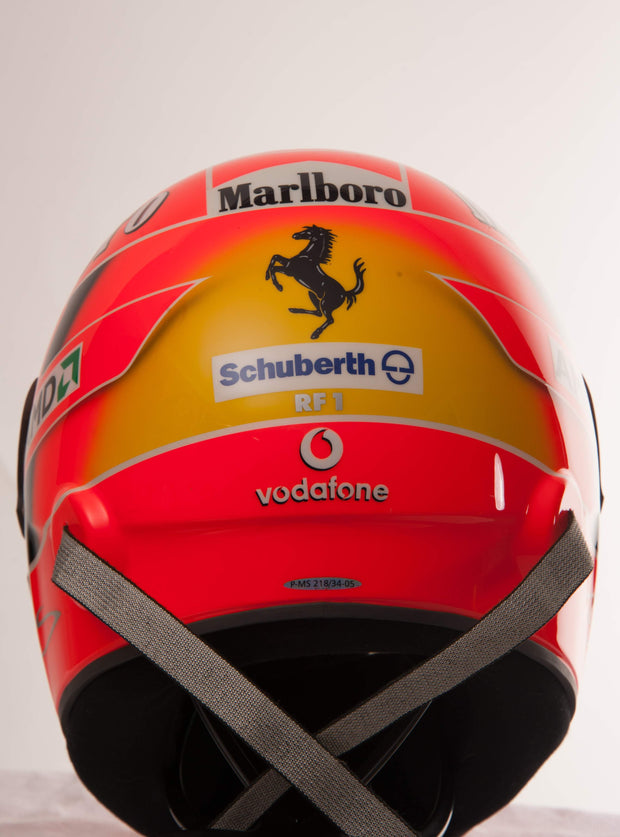 2005 Michael Schumacher test helmet Schuberth