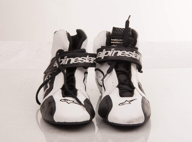 2009 The Stig Michael Schumacher AlpineStars race shoes Signed