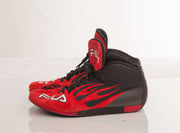 Michael Schumacher FILA Nomex race shoes Signed - Formula 1 Memorabilia