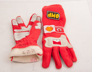2005 Michael Schumacher San Marino GP race used OMP gloves - Formula 1 Memorabilia