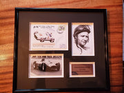 Juan Manuel Fangio signed 1980 Great Names in Motor Racing Cover - Formula 1 Memorabilia