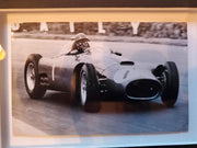 Juan Manuel Fangio signed 1980 Great Names in Motor Racing Cover
