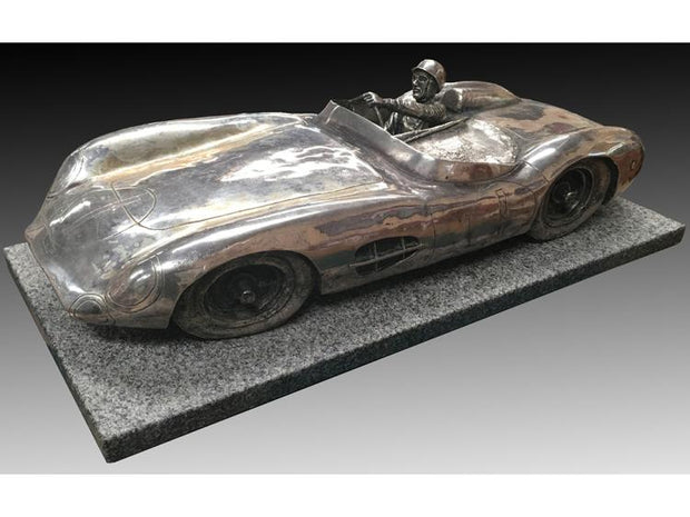 Aston Martin DBR1 Sculpture by Gordon Chism