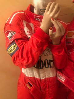 1997 Michael Schumacher Monaco GP race used suit - Formula 1 Memorabilia