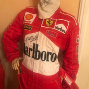 1998 Michael Schumacher Monaco GP race used suit - Formula 1 Memorabilia