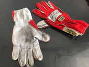 1991 Ayrton Senna Hockenheim GP race used gloves signed - Formula 1 Memorabilia
