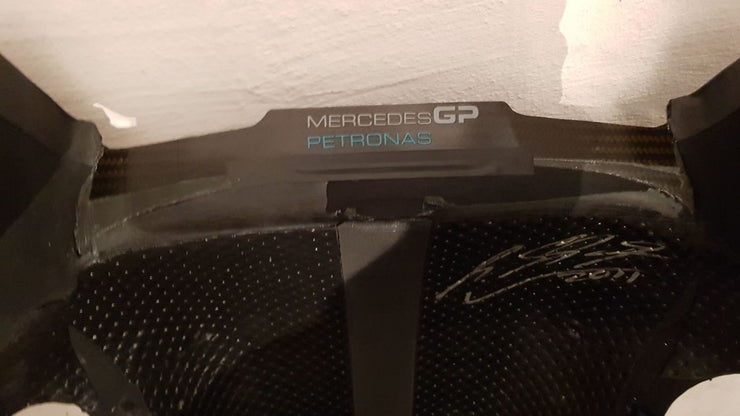 2011 Michael Schumacher AMG Petronas seat with belts - SOLD - - Formula 1 Memorabilia
