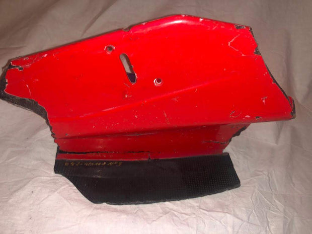 2000 Michael Schumacher broken front flap