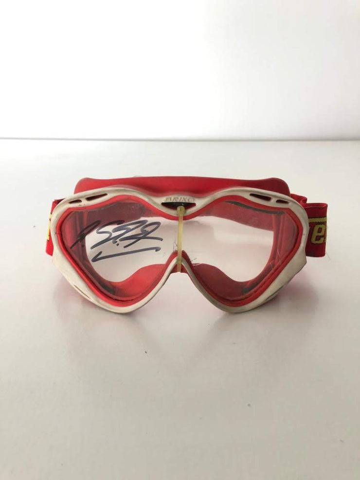 2003 Ferrari mechanic goggles signed by Michael Schumacher - Formula 1 Memorabilia