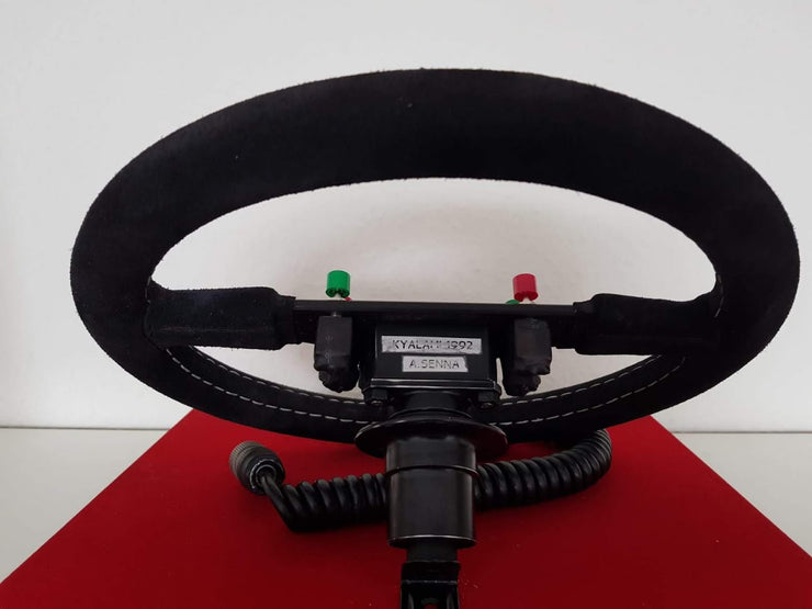 1992 Ayrton Senna Nardi steering wheel (just arrived) - Formula 1 Memorabilia
