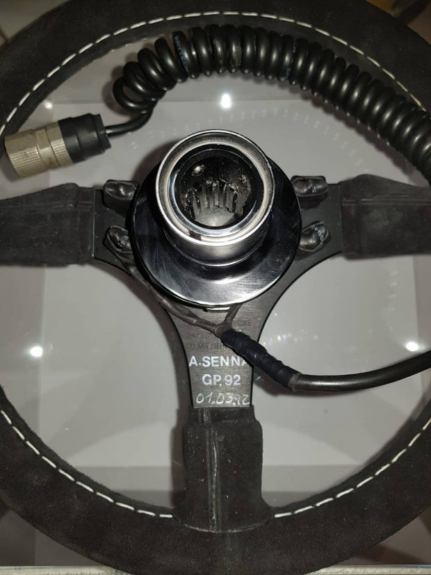 1992 Ayrton Senna Nardi steering wheel (just arrived)