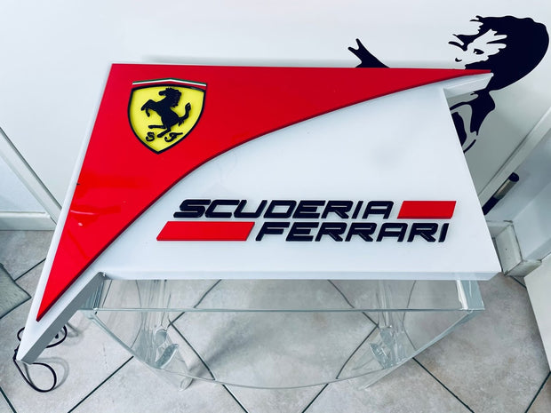 2010's Ferrari official dealer illuminated sign