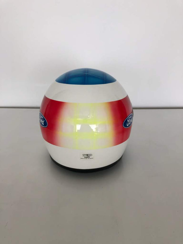 1993 Michael Schumacher Brazil GP race helmet replica signed