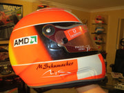 2004 Michael Schumacher  replica Helmet double signed
