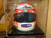 2000 Michael Schumacher Bell official replica Helmet signed