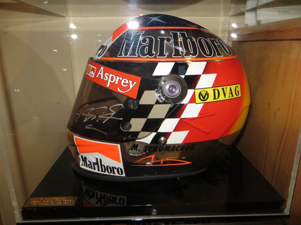 1998 Michael Schumacher replica Helmet signed