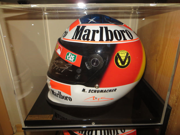 1999 Michael Schumacher Bell replica Helmet signed