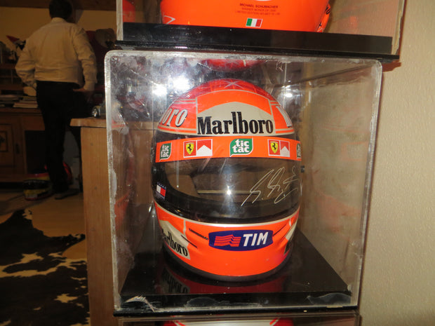 2000 Michael Schumacher replica Helmet signed