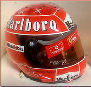 2002 Michael Schumacher Worldchampion race used helmet - Formula 1 Memorabilia