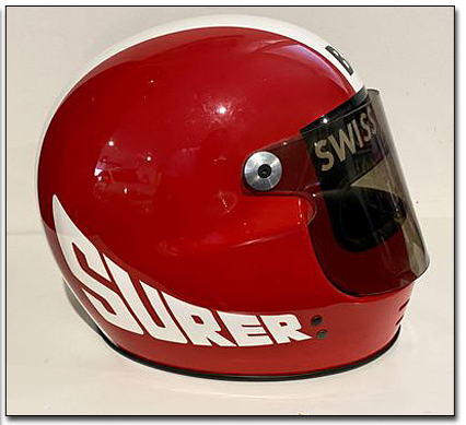 1983 Marc Surer European GP race used helmet