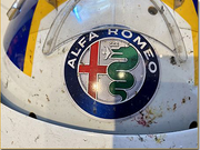2018 Marcus Ericsson race used helmet - SOLD -