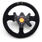1993 Ayrton Senna Nardi steering wheel replica signed