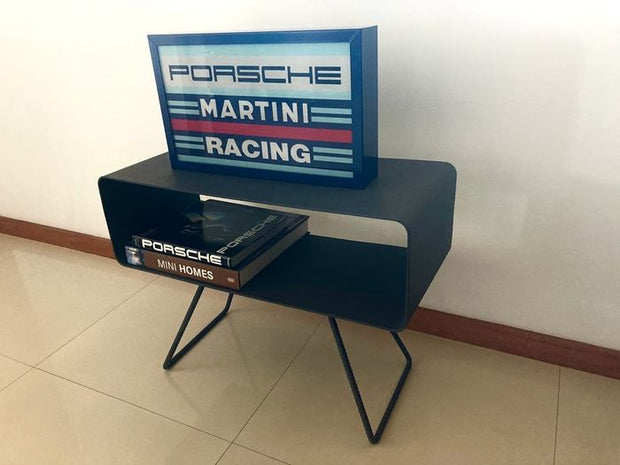 2000s Porsche dealership Martini Racing illuminated sign