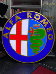 Alfa Romeo official dealer sign