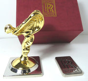 Rolls-Royce Gold Mascot  Spirit of Ecstasy