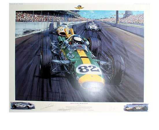 Tribute to Ford: The 1965 Indy 500 by Nicholas Watts - Formula 1 Memorabilia