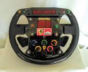 1999 Ferrari F399 replica steering signed by M. Schumacher